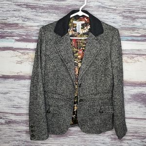 Can wool blend gray jacket style number 629